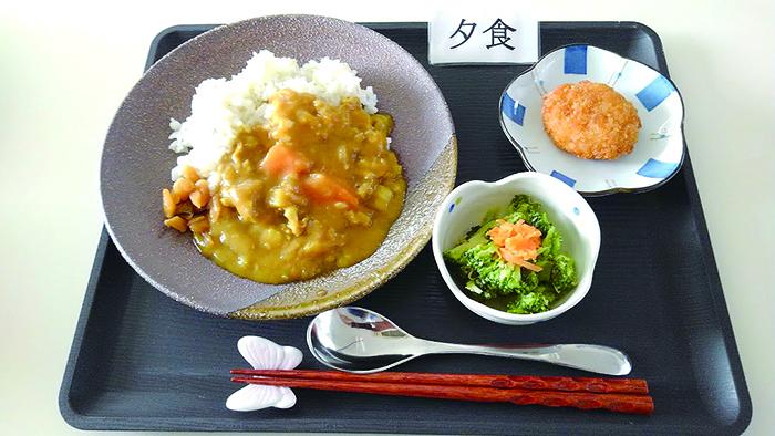 スマイルキッチン~夕食のメニュー8.24~