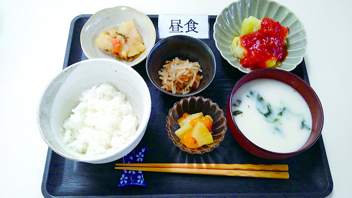 スマイルキッチン【9/4お昼のメニュー】